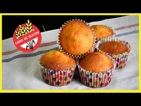 Cómo hacer cupcakes sin gluten en casa (cupcakes sin TACC aptos para celíacos)