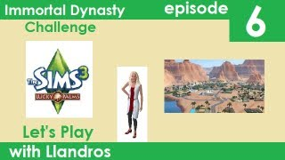 Let's Play The Sims 3 - Immortal Dynasty Challenge - Episode 6