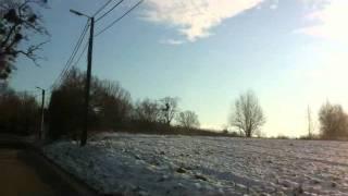 Sneeuw landschappen Limburg