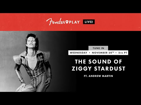 Fender Play LIVE: The Sound Of Ziggy Stardust