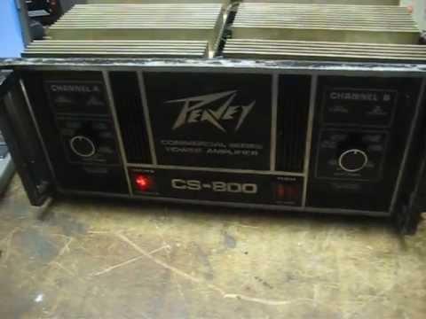 PEAVEY CS 800 STEREO POWER AMP