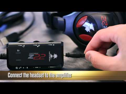 Turtle Beach Ear Force Z22 Unboxing And Setup