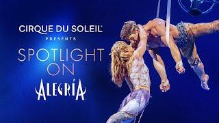 SPOTLIGHT ON ALEGRIA | Cirque du Soleil