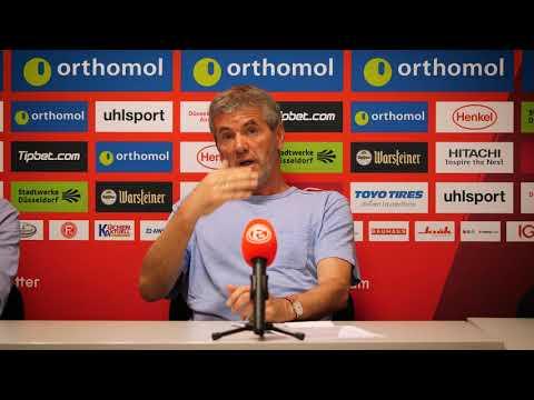 Pressekonferenz vor Fortuna Düsseldorf vs. FC Ingolstadt