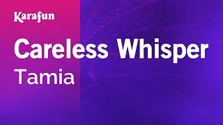 Karaoke Careless Whisper - Tamia *