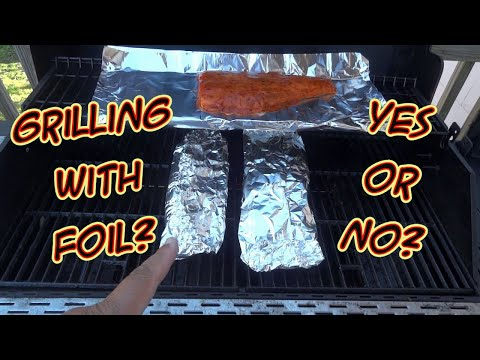 SDSBBQ - Grilling With Aluminum Foil