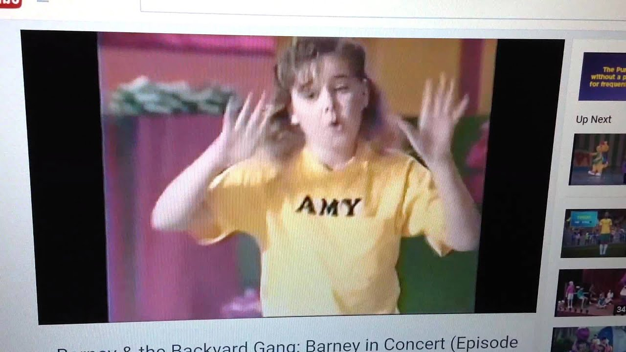 We Are Barney The Backyard Gang YouTube - Barney backyard gang concert