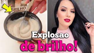 MEU NOVO BANHO DE BRILHO PASSO A PASSO + NOVA COR! por Julia Doorman
