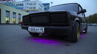 BLACK JACK #6. Hot Russian Tuning / Тюнинг ВАЗ 2107 на 200 000 рублей. Последние штрихи