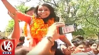 Delhi University Students Union Elections : ABVP Wins 3 Seats | V6 News