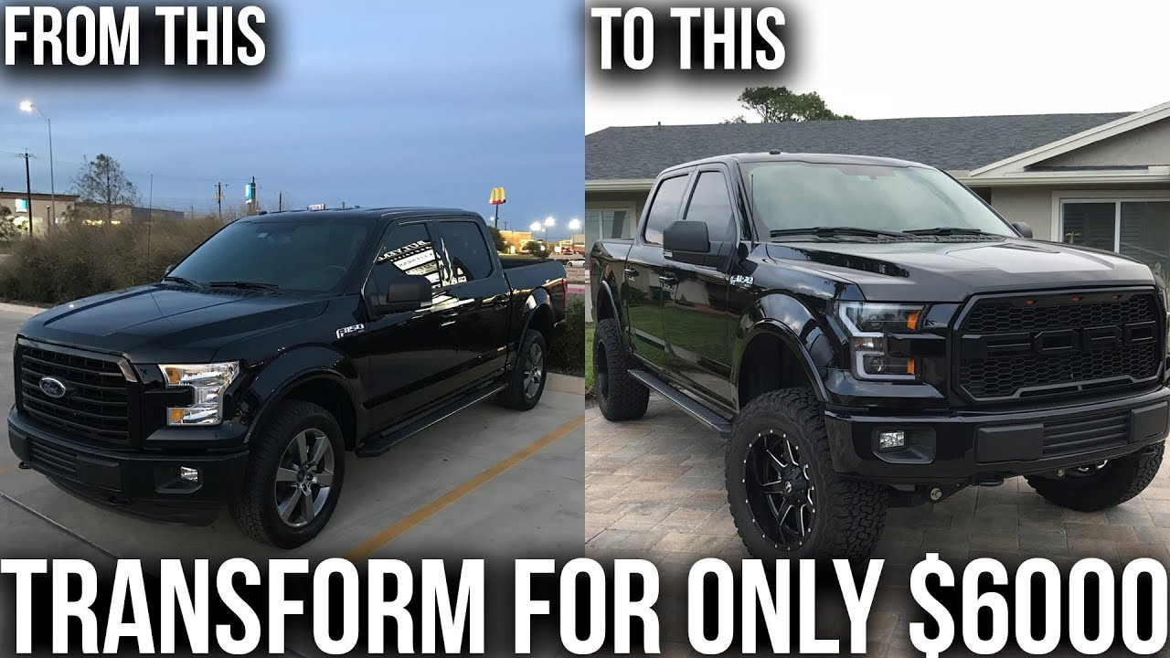 My Ford F150 Transformation For Under 6000 Best F150 Mods For The Price Youtube