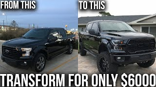 MY FORD F150 TRANSFORMATION FOR UNDER $6000. BEST F150 MODS FOR THE PRICE