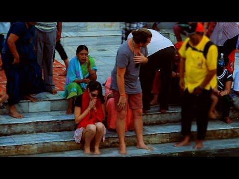 Ganga Ghat at Parmath Niketan, Rishikesh