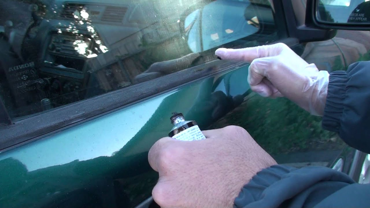 Honda Crv Window Molding How To Restore It Youtube