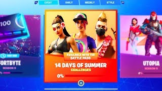 *NEW* HOW TO GET FREE REWARDS IN FORTNITE! (14 Days of Summer Event)