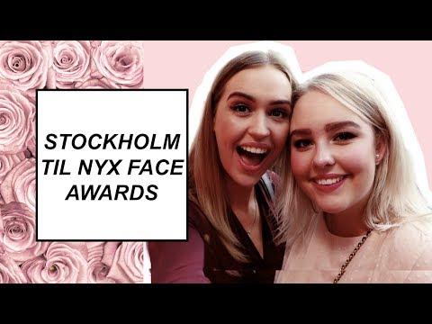STOCKHOLM TIL NYX FACE AWARDS!