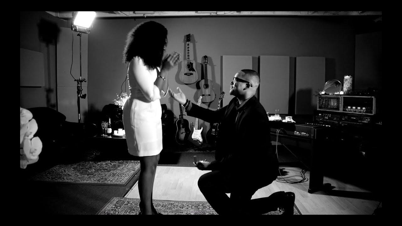 Private Music Studio Marriage Proposal Video