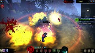 Akaneiro Demon Hunters [PC] - Wicked Beasts - Mission 2 walkthrough