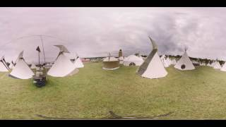 BBC Glastonbury 2016 - Day 1 at the Ribbon Tower in 360
