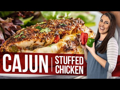 Cajun Stuffed Chicken Breasts