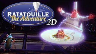 [4K-Extreme Low Light] Ratatouille The Ride -2D-  POV Full experience - Disneyland Paris