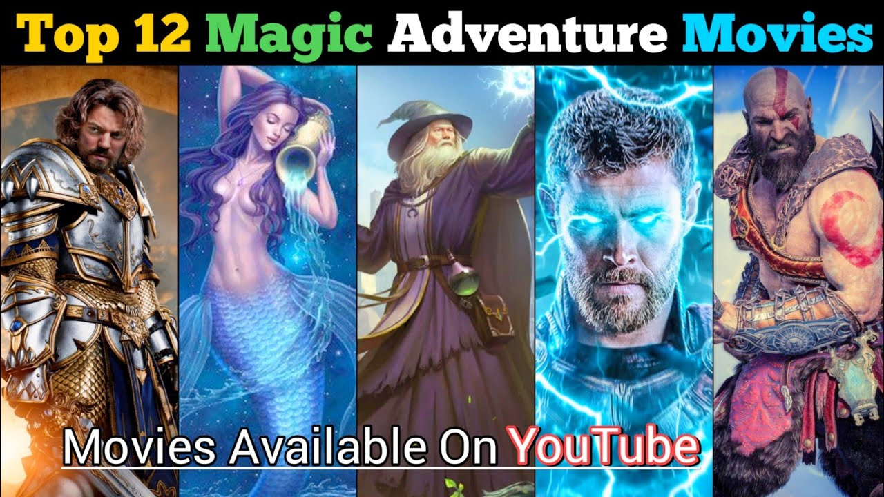 Download Top 12 Best Magic Adventure Movies In Hindi   Available On YouTube