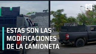 Modificaciones a camioneta Tundra de balacera en Nuevo Laredo - En Punto