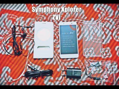 Symphony Xplorer ZVI Unboxing Review