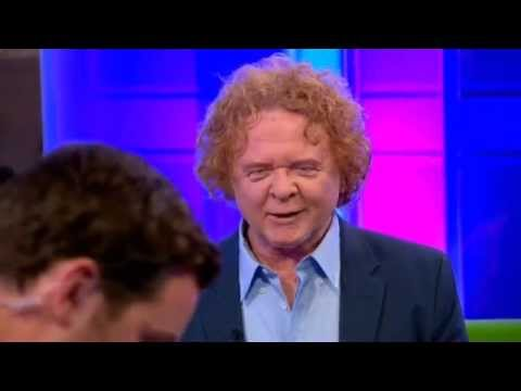 Mick Hucknall Simply Red Shine On BBC The One Show