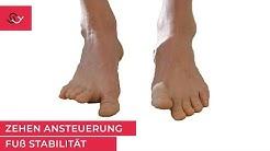 Toega - Fußgymnastik - Zehen trainieren - Ansteuerung der Zehen verbessern