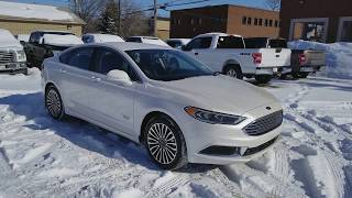 2018 Ford Fusion Energi SE | Waterloo Ford Lincoln