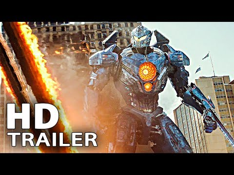 PACIFIC RIM 2 ALL Trailer & Clips (2018)