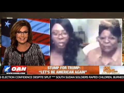 """Sarah Palin Interviews Diamond & Silk of """"We Be Sisters"""""""