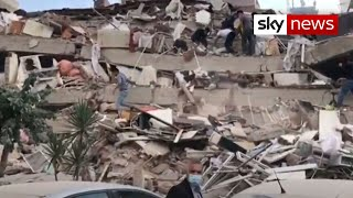 At least 39 dead and 800 injured in earthquake that hit Turkey and Greece
