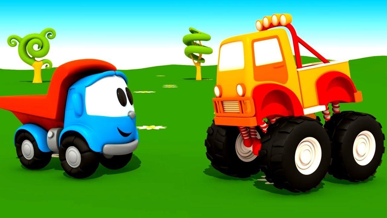 Download Leo der Lastwagen Videos für Kinder. 5 Folgen am Stück