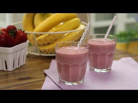 How to Make a Strawberry Oatmeal Smoothie   Smoothie Recipes   Allrecipes.com