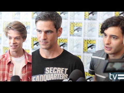 Colin Ford, Eddie Cahill and Alexander Koch   Under the Dome CBS Season 2
