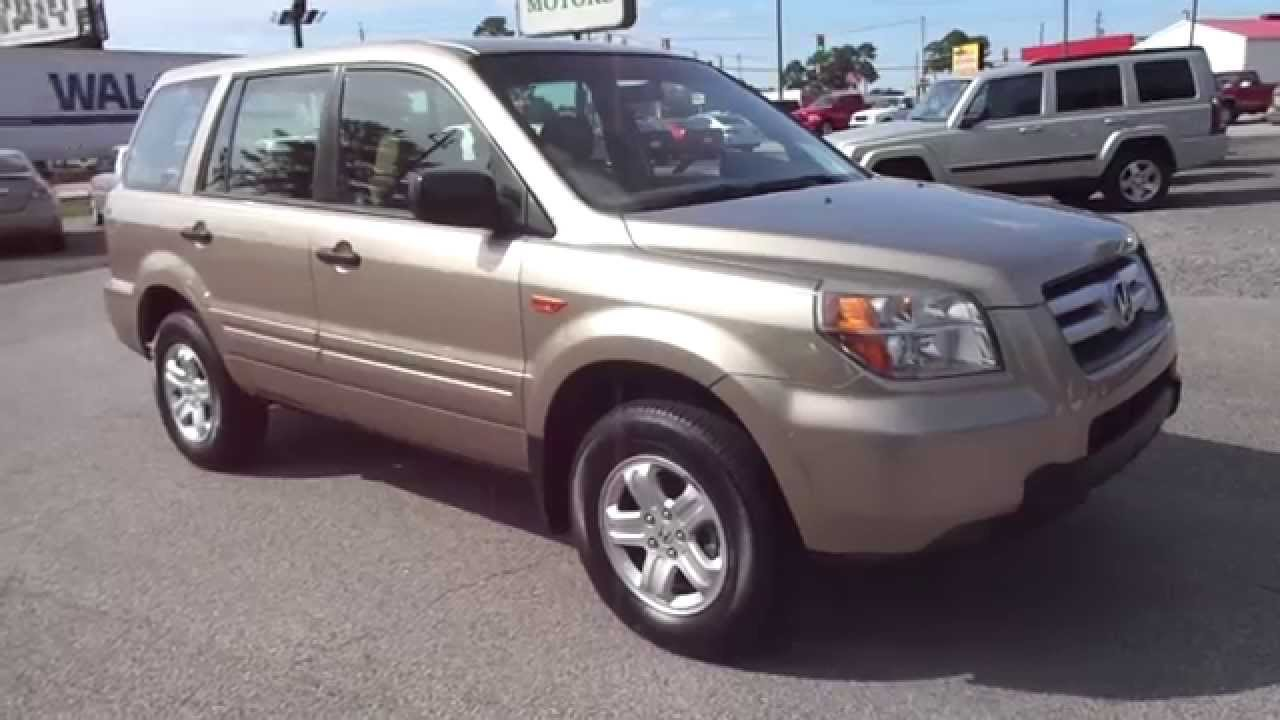 Windham Motors Florence >> 2006 Honda Pilot - Windham Motors Used Cars - Florence, SC ...