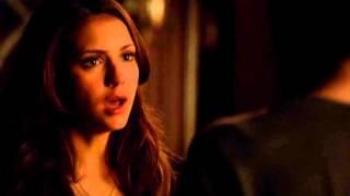 The Vampire Diaries 5x16 Elena and Damon scene  \Stop loving me\