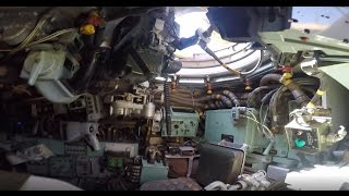 A look around inside a Chieftain Mk 11 Main Battle Tank &amp its TOGS