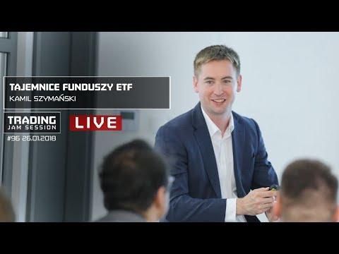 Tajemnice funduszy ETF, Kamil Szymański, #96 Trading Jam Session