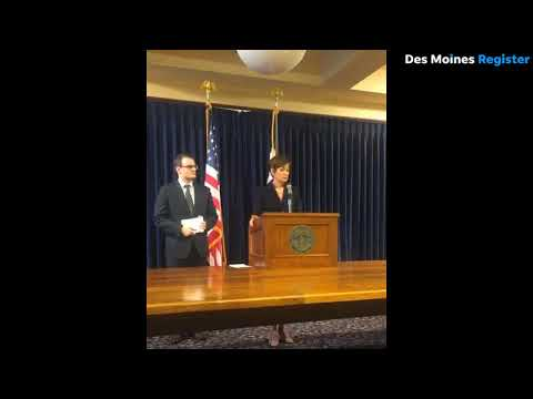 Reynolds 'disappointed' with reports on Iowa Senate leader Bill Dix