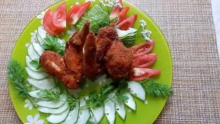 Вкусный рецепт Хрустящие куриные  крылышки жареные во фритюрнице  GFGril