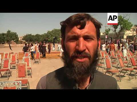 Pakistan's Pashtun tribes stage protest calling for rights