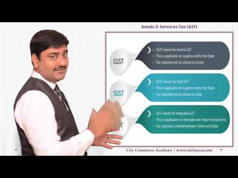 Goods and Services Tax - A complete overview on GST 2016