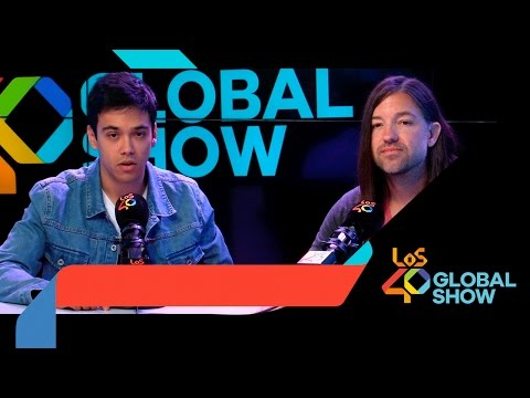 Maico en Los 40 Global Show