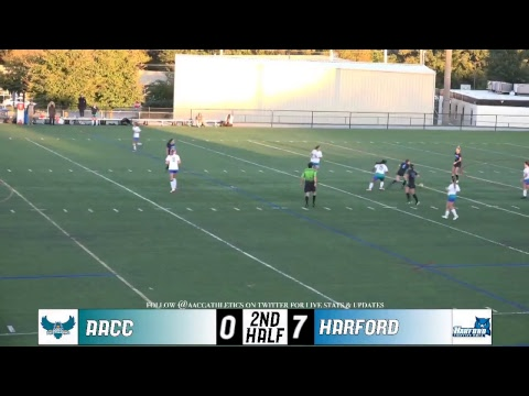WSOC: 10/18/2018 AACC Riverhawks vs. Harford Community College Fighting Owls