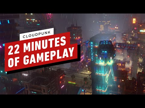 22 Minutes of Cloudpunk Gameplay