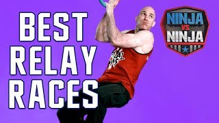 Best Runs: Top Relay Races | American Ninja Warrior: Ninja Vs. Ninja