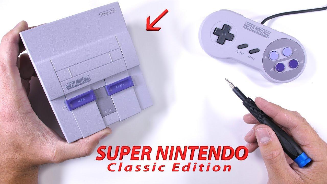 Super Nes Classic Edition Teardown Unboxing Repair Video